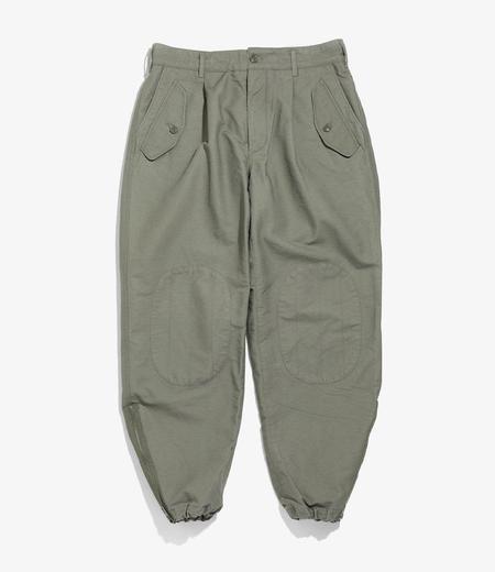 Engineered Garments  Cotton Double Cloth IAC Pant - Olive
