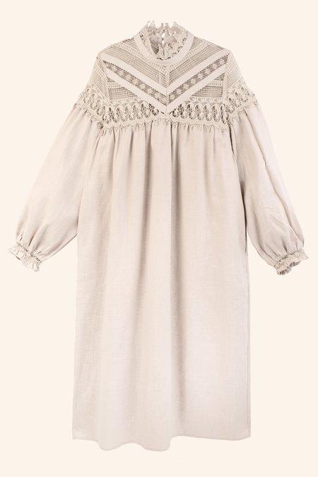 Meadows Vinca Dress - Cream