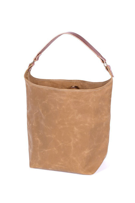 Wood & Faulk Anvers Market Tote High Desert Sage