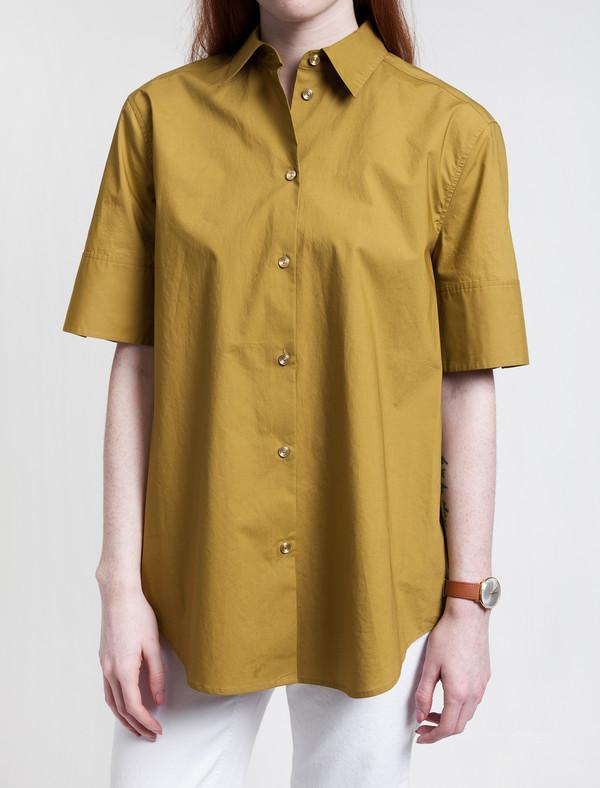 Derek Lam 10 Crosby Addle Shirt Olive
