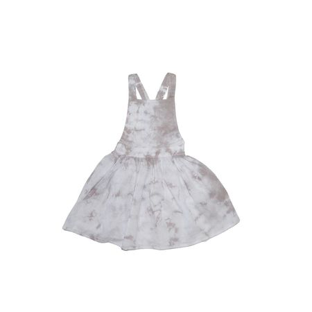 Little Urban Apparel Grey Cloud Pinafore Dress