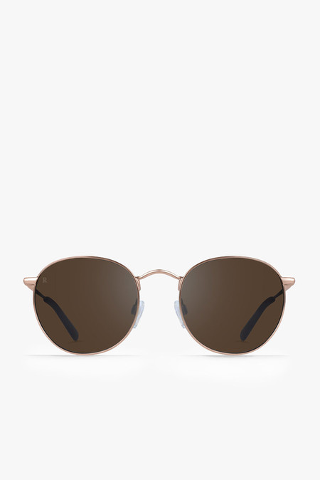 Raen Optics Benson Sunglasses in Rose Gold