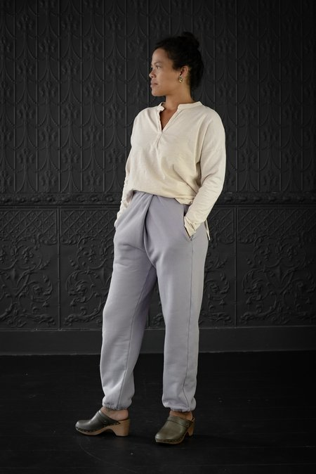 Atelier Delphine Rolled Over Sweatpant - purpling dawn