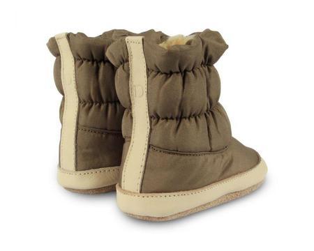 KIDS Donsje Lined Snow Boots - Stone Taslan