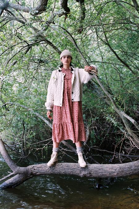 Meadows Jasmine Dress - Ditsy on Corduroy