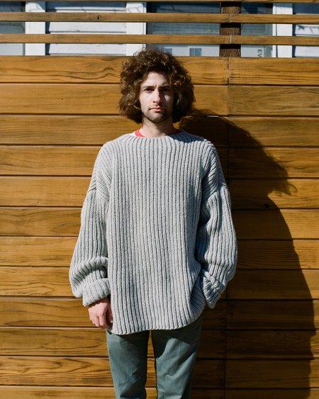 Baserange Mea Pullover - Light Grey