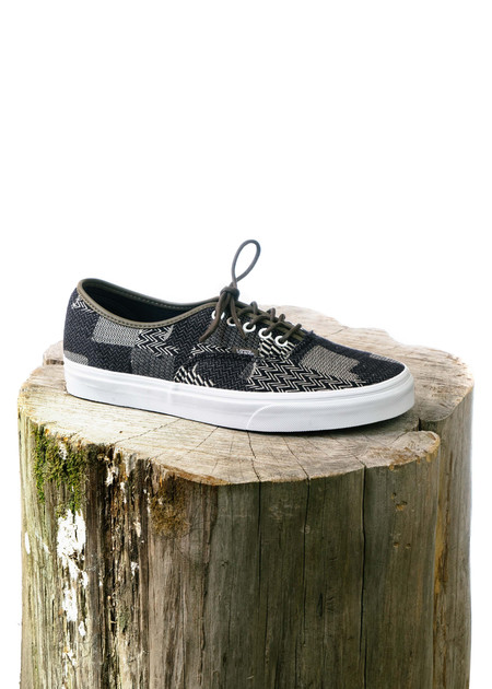 VANS Authentic Denim Patchwork - Navy/True White