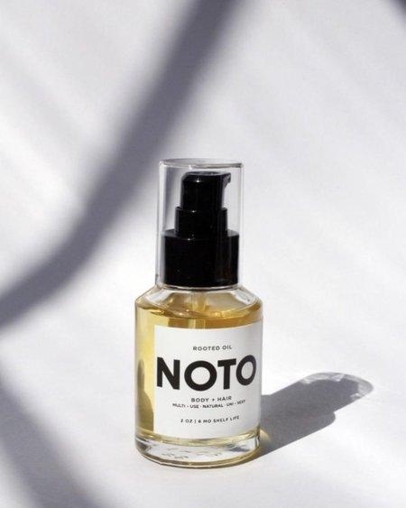 NOTO botanics Rooted Oil
