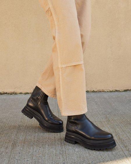 Loeffler Randall Toni Black Platform Boot - BLACK