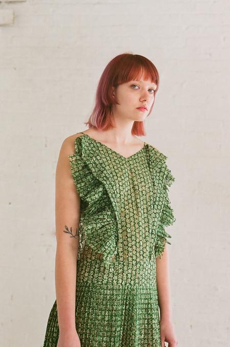 A Détacher Loretta Dress in Green