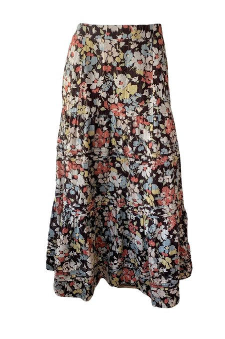 The Great. Grove Skirt - Meadow Floral
