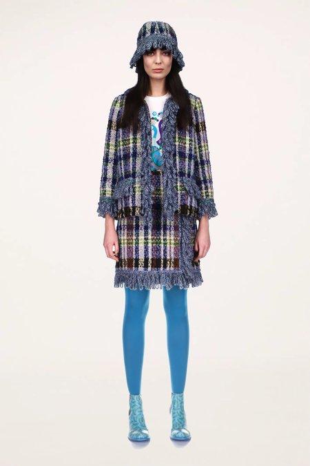 Anna Sui Technicolor Tartan Jacket