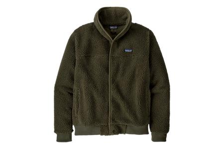Patagonia Snap Front Retro-X Fleece Jacket - Basin Green
