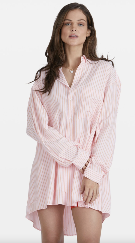 BLANCA Benson Shirt - Teal/Rust
