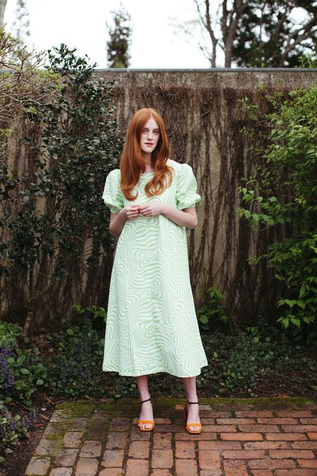 Mane Project Hypno Dress - Hypno Green