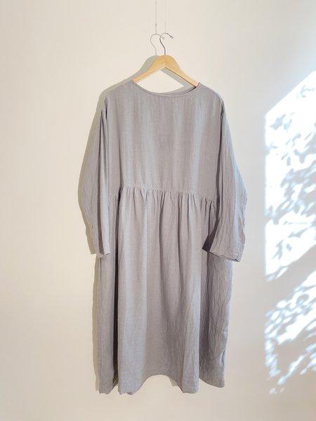 ICHI ANTIQUITES Azumadaki Sumi/Logwood Dress