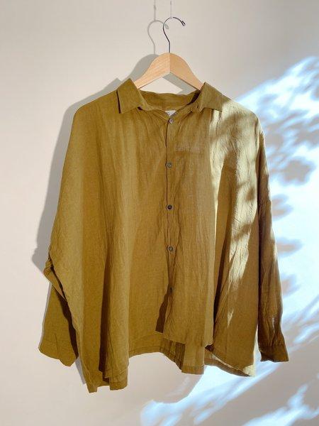 ICHI ANTIQUITES Linen Color Shirt