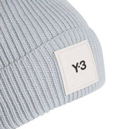 adidas Y-3 Logo Beanie - Ice