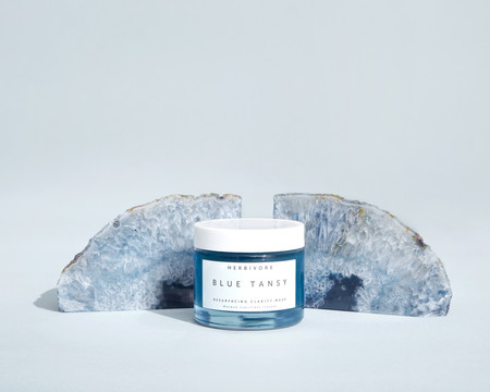 Herbivore Botanicals Blue Tansy AHA + BHA Resurfacing Clarity Mask