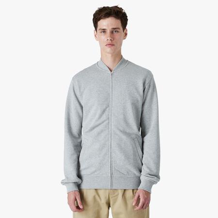 COMME des GARÇONS SHIRT x KAWS Zip Up Jacket - Grey