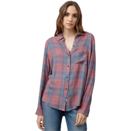 Rails Hunter shirt - Rose Blue Clover