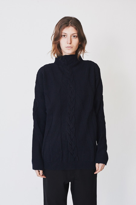 Reality Studio Cable Knit Pullover
