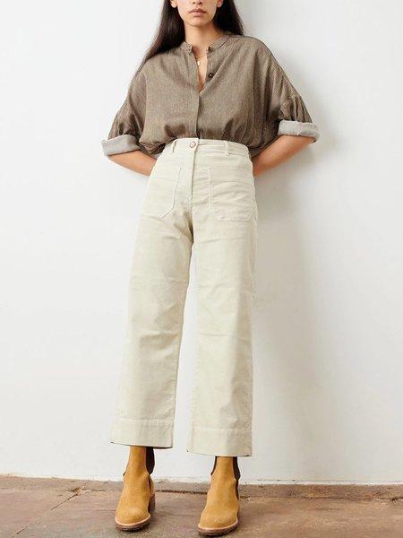 Sessun Hudson Cord Trouser - Milk