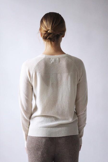 M.Patmos Brighton Cashmere Pullover - Ivory