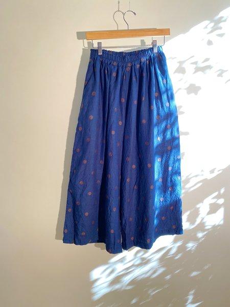 ICHI ANTIQUITES Organic Linen Dot Pants