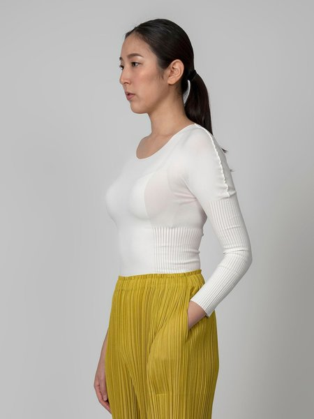 Pleats Please by Issey Miyake A-POC Skin Top - Black
