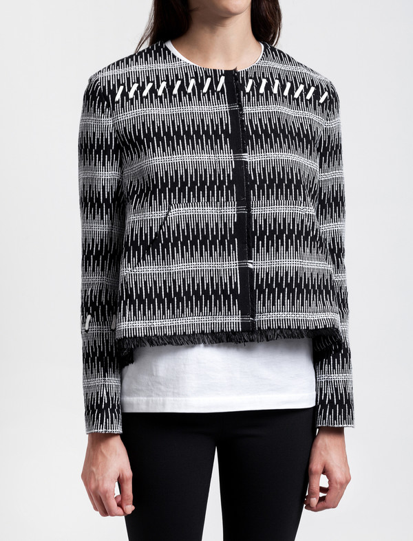Thakoon Addition Cotton Tweed Jacket