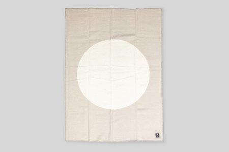 Norden x Faculty Department Wool Throw Blanket - Desert