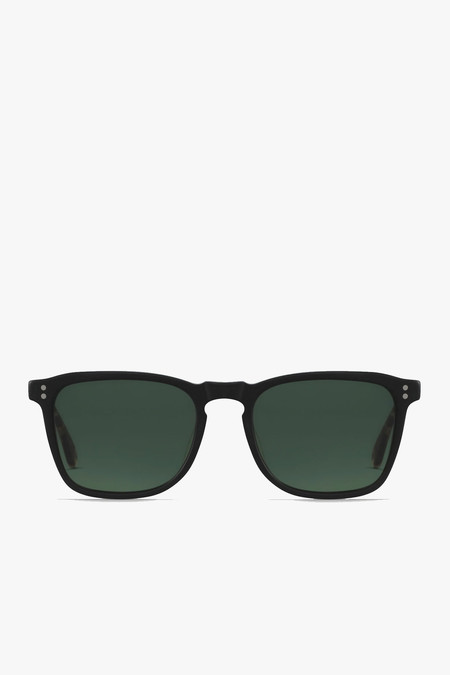 Raen Optics Wiley Sunglasses in Matte Black/Brindle Tortoise
