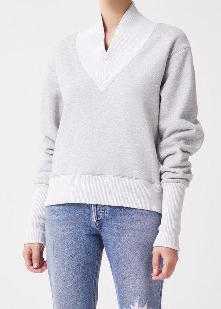 Agolde Klara Sweatshirt - Grey Heather