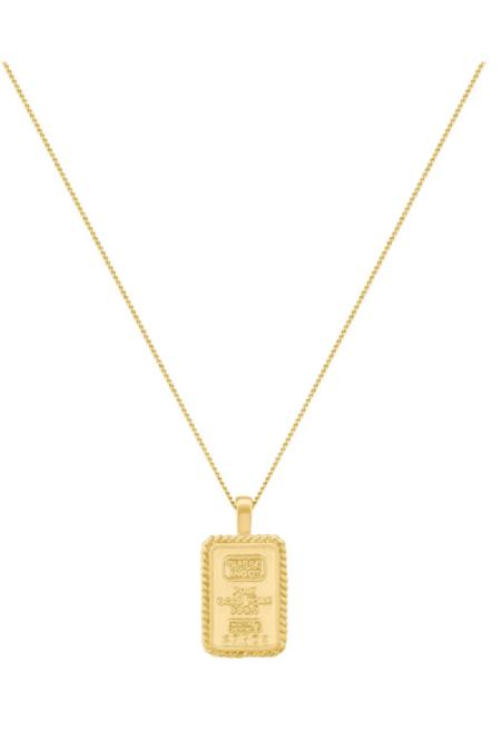 Electric Picks Gold Digger Necklace - 14kt Gold
