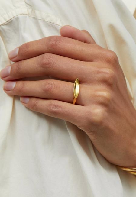 Jenny Bird Groove Ring - Gold