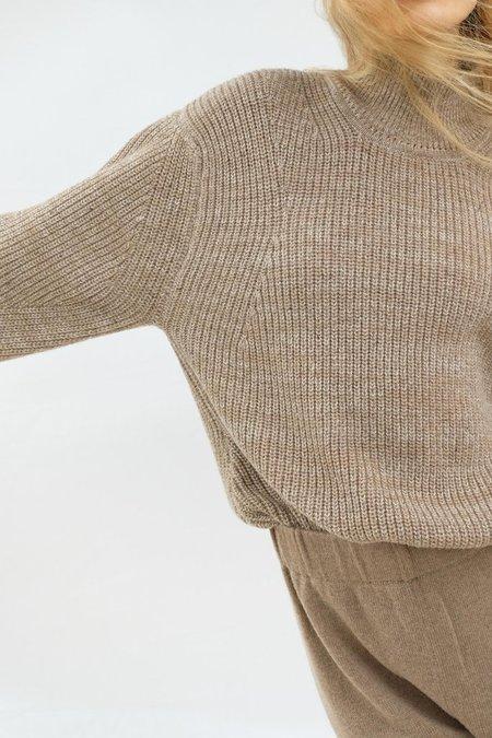 Micaela Greg Shae Sweater - Camel