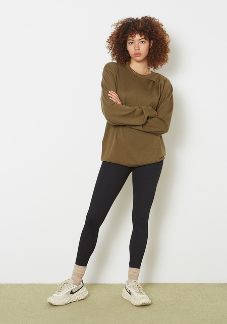 Year of Ours Ribbed Veronica Legging -  Black