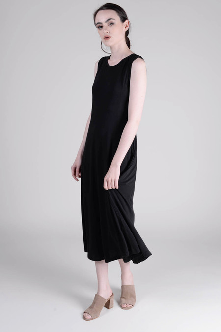Raquel Allegra Big Sweep Midi Dress