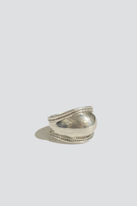 Vintage Dome Ring - Sterling Silver