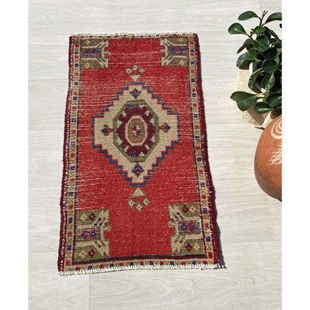 Vintage The Elevated Abode Lucille Rug - Red