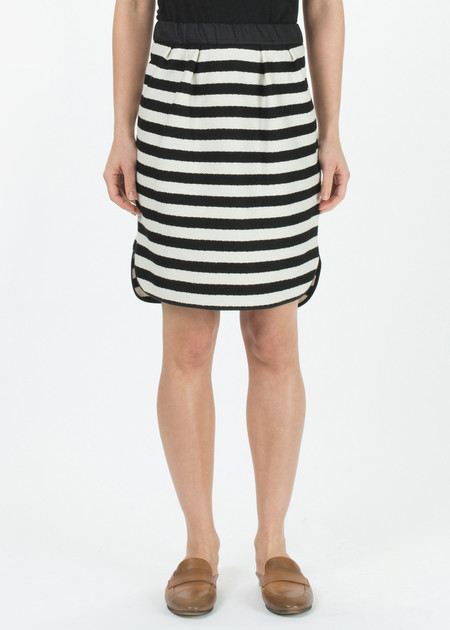Odeeh Striped Woven Skirt