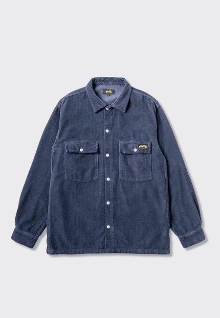 Stan Ray CPO Shirt - navy cord