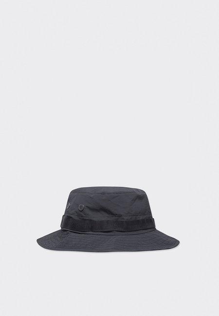 Wood Wood Fauna Tech Bucket Hat - black