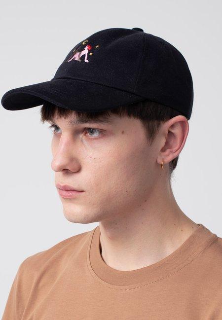 Carne Bollente Moonlight Frictions Hat - black