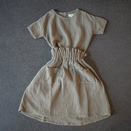 The Simple Folk The Muslin Skirt - Sage