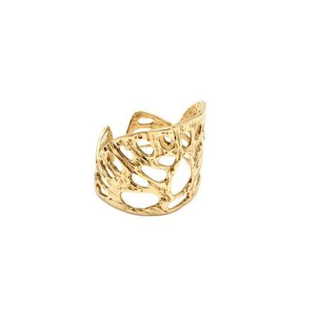 Odette New York Amuletum Ring - BRASS