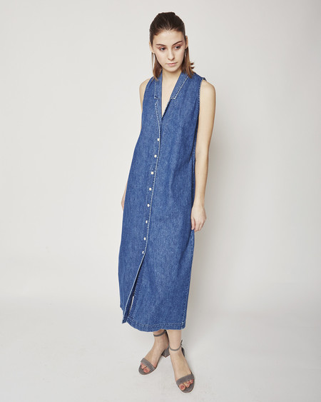 Ilana Kohn Eibel maxi dress in denim