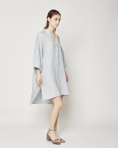 Ilana Kohn Steven dress in smoke linen