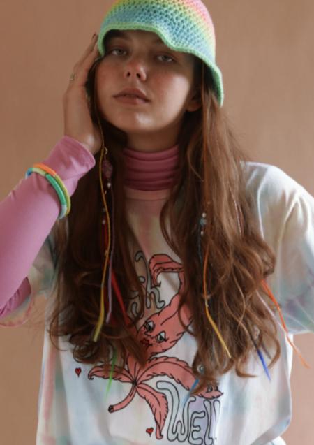Unisex Sugarhigh Lovestoned High As Well Tie Dye T-Shirt Dress